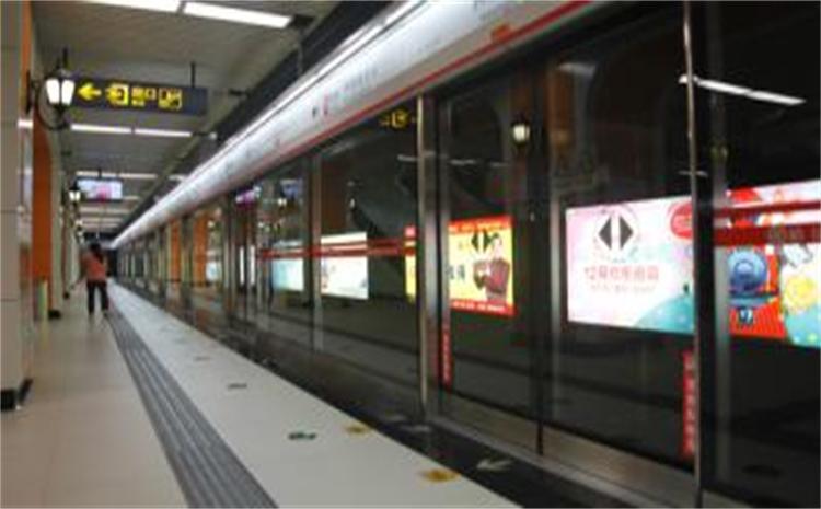 哈尔滨地铁1号线烟厂站站台12封灯箱广告