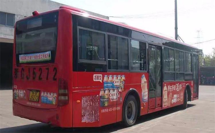 公交车身广告制作