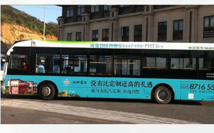 玉溪公交车广告