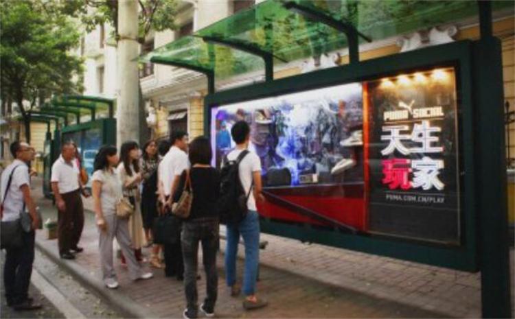 郫县公交车广告